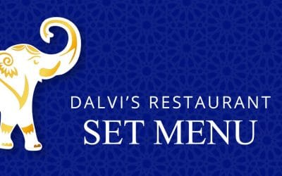 New Set Menu From the 16th of July